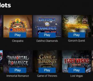 Betway Online Slots
