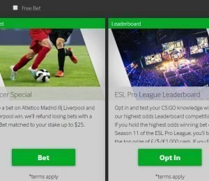 Betway Promotions
