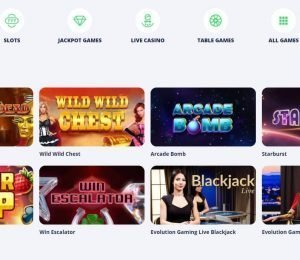 Casino Room popular games