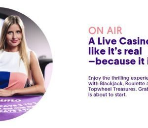 Casumo Live Casino screenshot