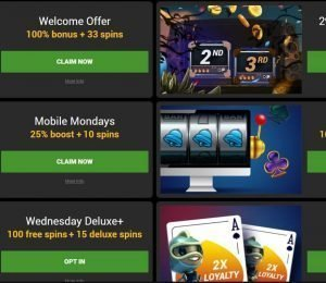GoWild Casino promotions
