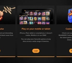 Mobil6000 Casino - Offers
