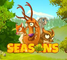 Seasons slot logo