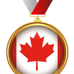 Canada Flag Medal