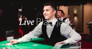 Live Blackjack advert