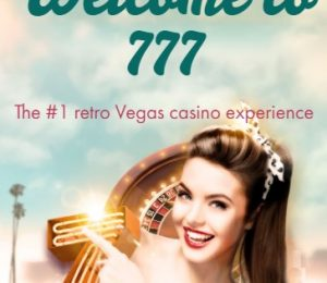 777 Casino Welcome Page