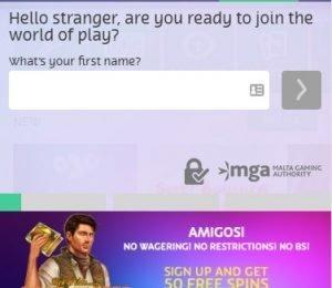 Playojo games register
