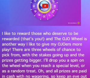 Playojo the OJO wheel