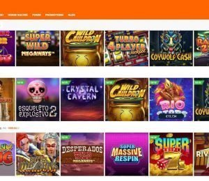 Betsson slots screenshot