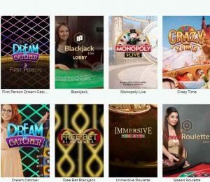 highroller casino live games-min