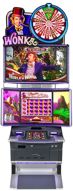 Scientific Games Willy Wonka Games