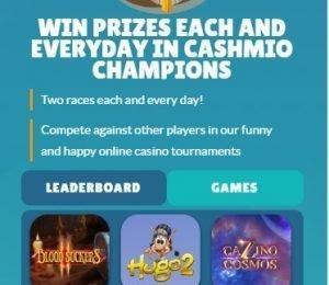 Cashmio champions