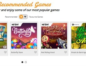 Casimba Recommended Games Screenshot
