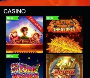 Next Casino lobby