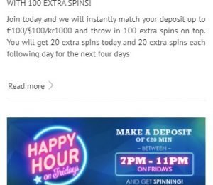 SlotsMillion promotions