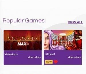 Yako Casino Games screenshot