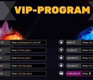Playamo VIP program