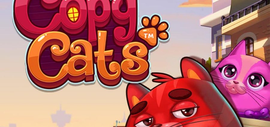 Copy Cats Slot Game Demo Image