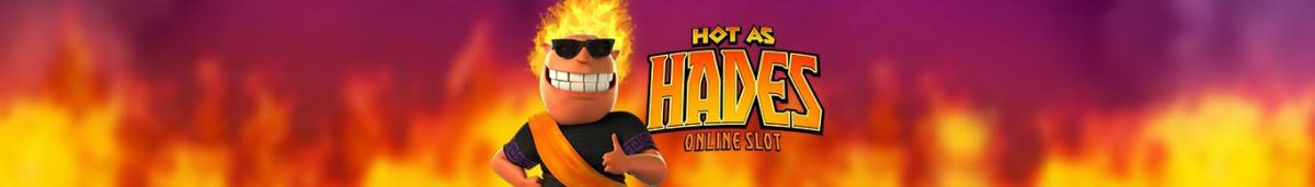 Hot as Hades Slot Wide Banner