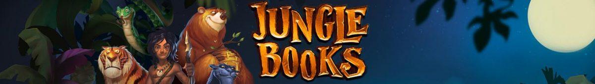 jungle books slot game long banner