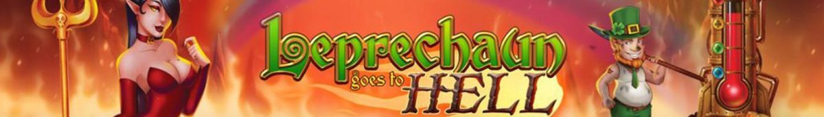 leprechaun goes to hell slot banner
