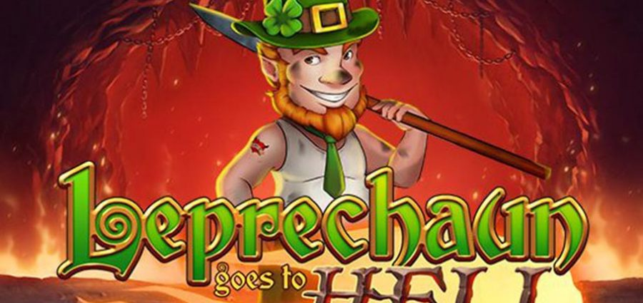 leprechaun goes to hell slot game demo poster