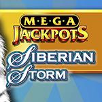 mega jackpots siberian storm