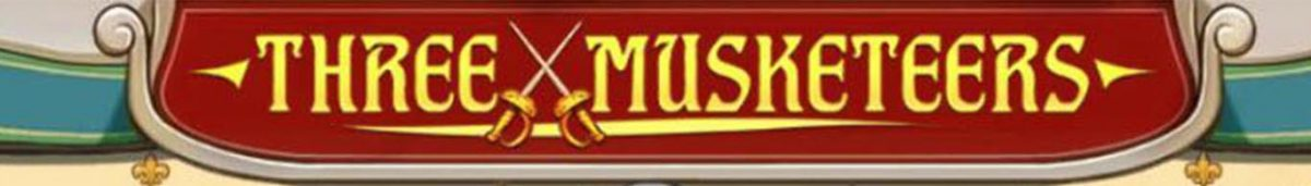 the three musketeers slot banner