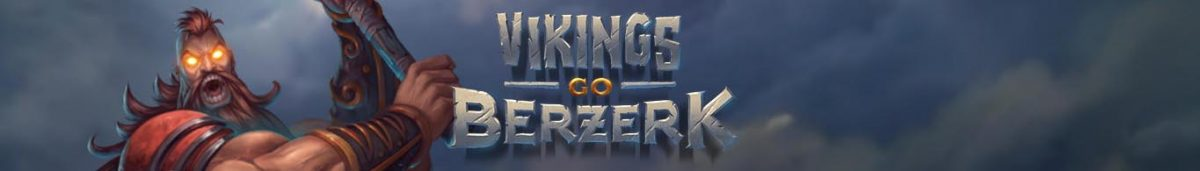 Vikings Go Berzerk Slot Banner