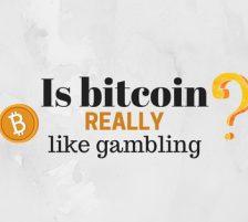 Is Bitcoin like Gambling Image