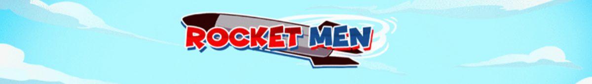 Rocket Men Slot Banner