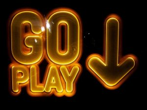 Progressive Jackpot Slots - Go Play Sign