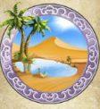 Golden Caravan Slot Oasis Symbol