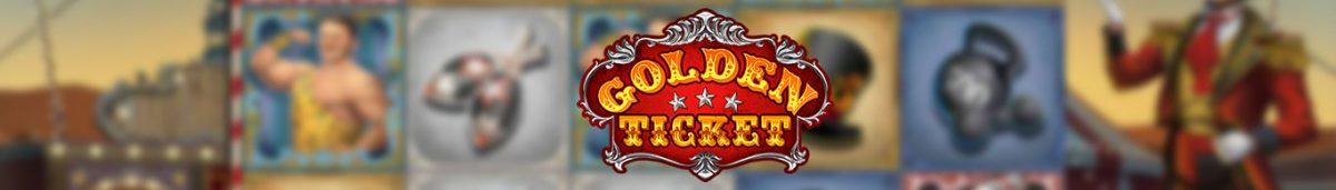 Golden Ticket Slot Long Banner