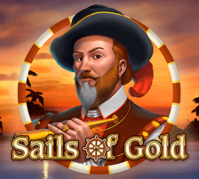 Sails of Gold Slot Logo