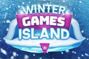 Winter Games Island Logo
