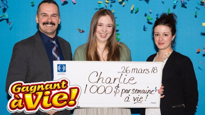 Canadian Teen Wins Lotto for Life!