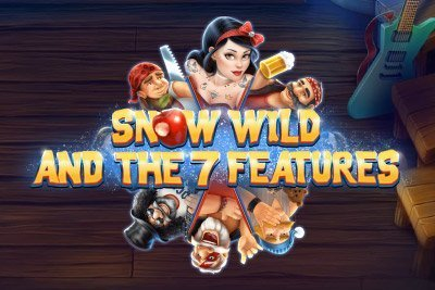 Snow Wild and the Seven Features Slot Logo