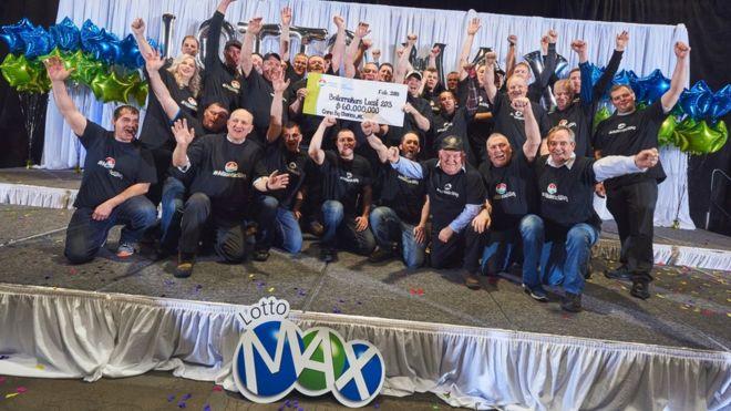 Canadian Workers Win Million Dollar Lottery