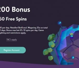 Wishmaker Casino Welcome Bonus Screenshot