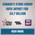 Canada's Stars Group Buys SkyBet for $4.7 Billion