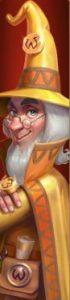 Wizard Shop Slot - Golden Wizard Icon