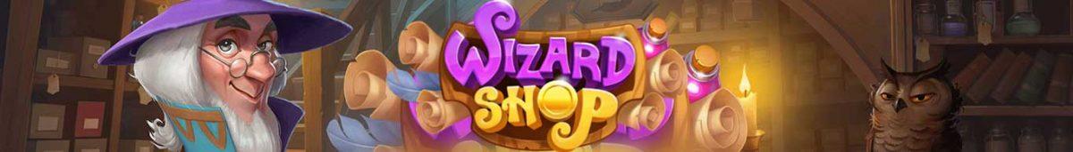 Wizard Shop Long Banner