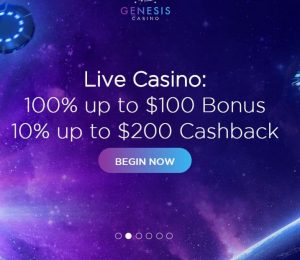 Genesis Casino welcome bonus-min