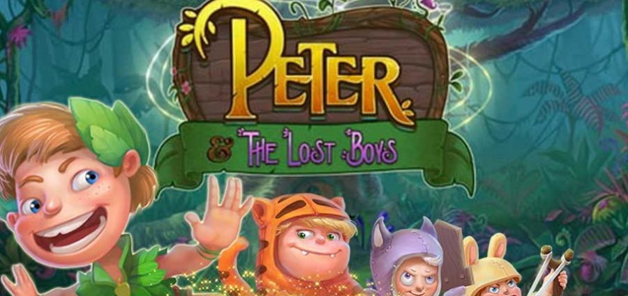 Peter and the Lost Boys slot main
