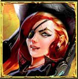 Pirate's Charm Slot - Female Pirate