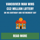 Canadian Man Wins Lottery on Birthday