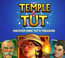 Temple Of Tut Slot Game Demo Screen Image