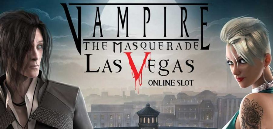 Vampire The Masquerade slot main