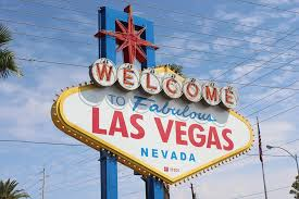 Las Vegas Mass Strike - Welcome to Las Vegas Sign